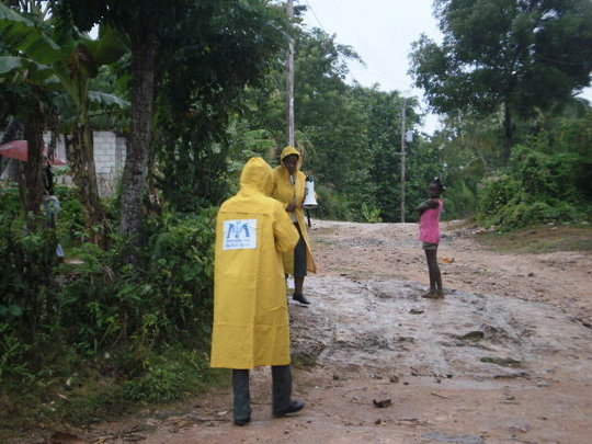 IMC assessing damage from Hurricane Sandy