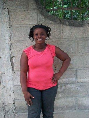 Roselette, one of the women from CHF's program
