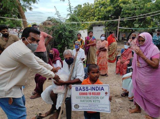 Relief at Kanaparthi village