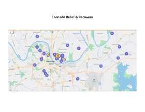 data on tornado relief: Spring 2020 (PDF)