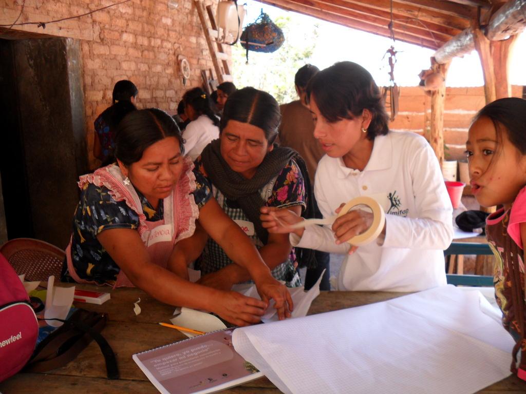 Women putting new skills to work
