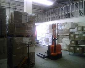 VIDA warehouse of medical supplies Haiti bound
