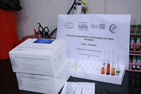 Really great: the Rapid test kits crossed blockade