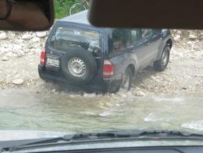 Wet journey...