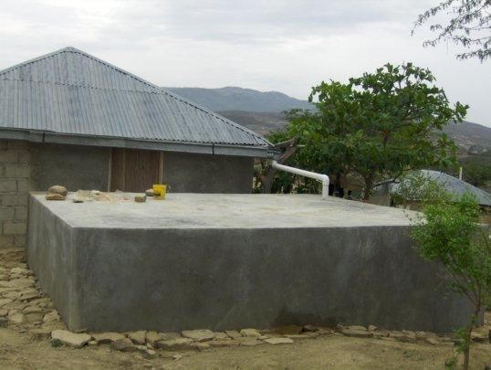 rebuilding giving water