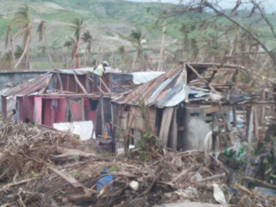 house after hurricane Mathews
