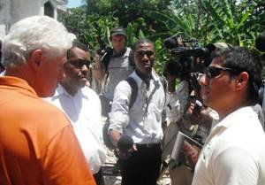 Karl Foster Candio interviews President Clinton