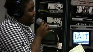 Internews Haiti team broadcasting 'Hope for Haiti'
