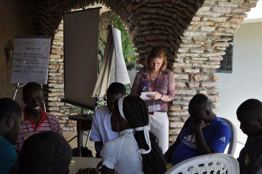 Water, sanitation and hygiene training