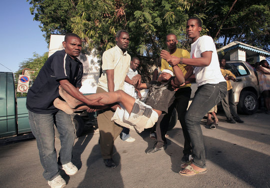Train Haitians to Help Rebuild their Country