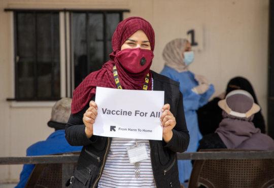 IRC's health clinic in Zaatari refugee camp