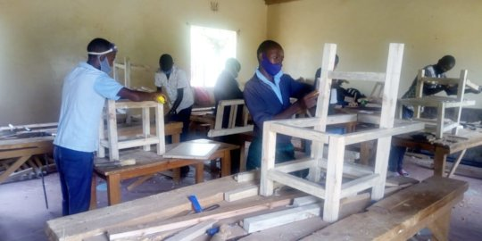 Carpentry and joinery students back at Seed ofHope