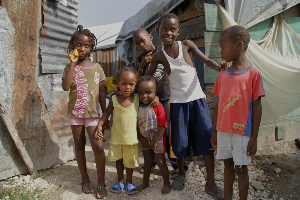 A few children we serve in Leogane
