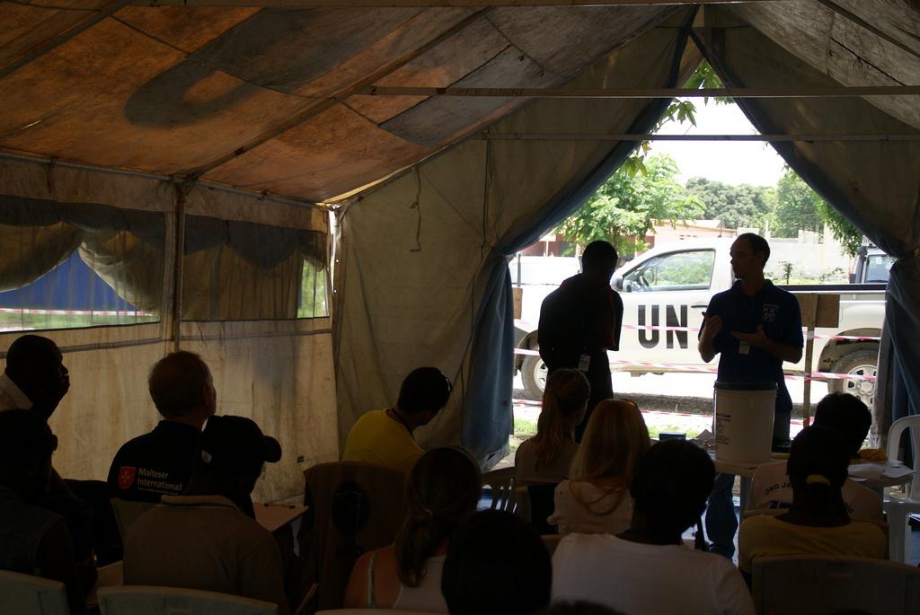 Jean Alliance (Program Coordinator) at UN Leogane