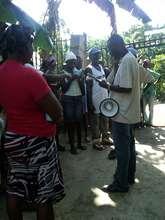 Registering families to receive Gadyen Dlo