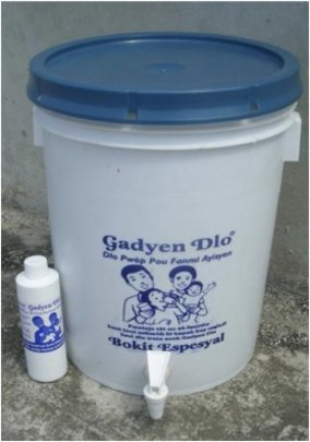 Our System and Gadyen Dlo (liquid chlorine)