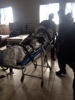 New patient arrives with 1st air ambulance flight