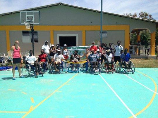 Wheelchair Tennis starts at Rehab Unit