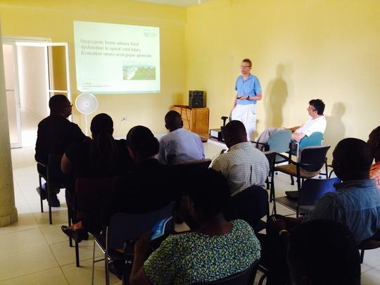 Neuro-urology training with the Swiss Foundation