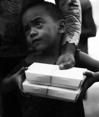 An undernourished kid