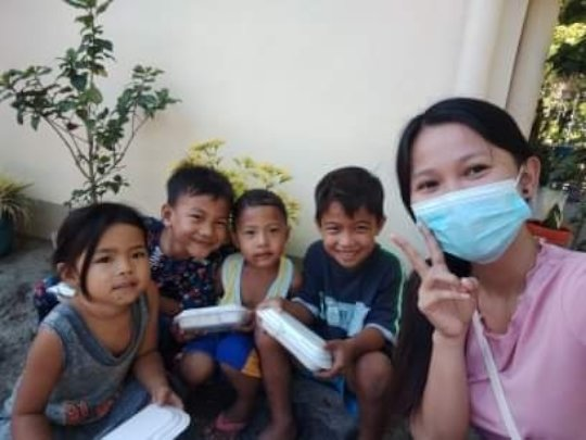 Staff with Kids