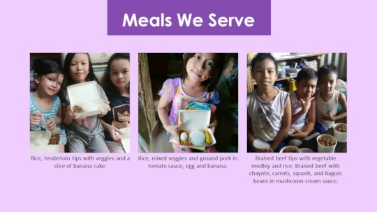 Here's a look at what we serve the kids