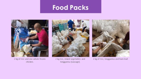 What we serve for families in Kamuning