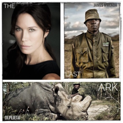 James Mwenda is featured on Rhona Mitra's podcast