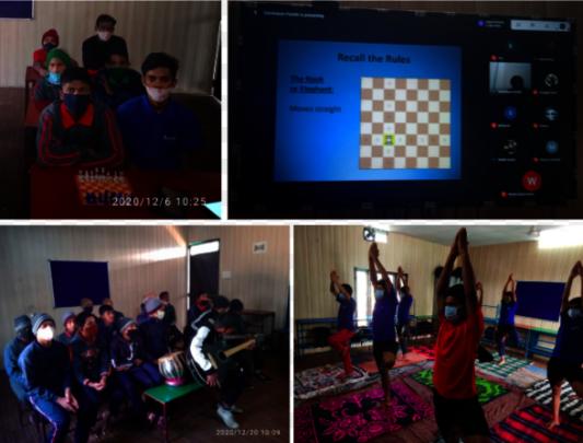 Activities conducted by Welham Boys School