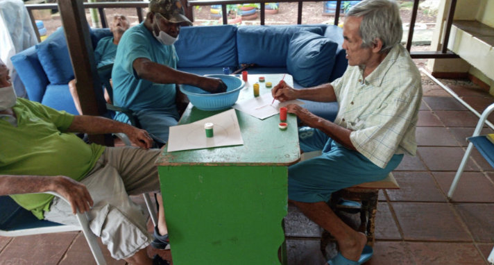 Painting Activity for Our Elderly