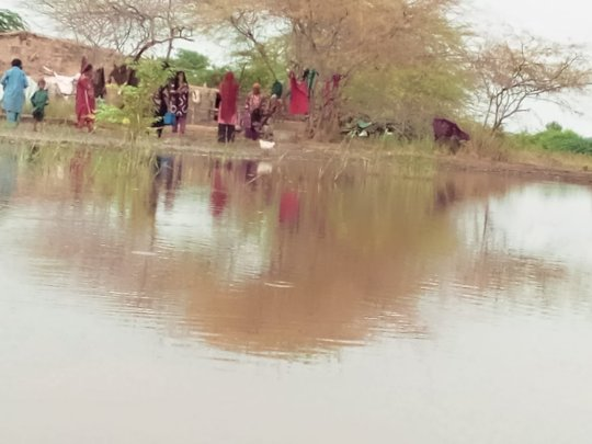 Villages now facing flood water