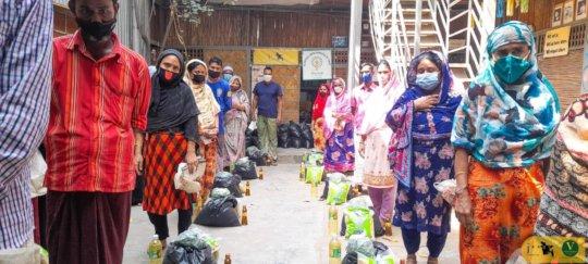 Food Bags Distribution