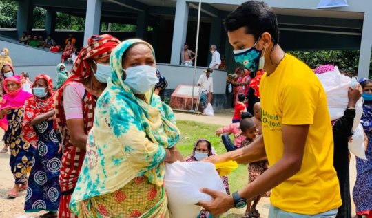 Relief Distribution In This Pandemic