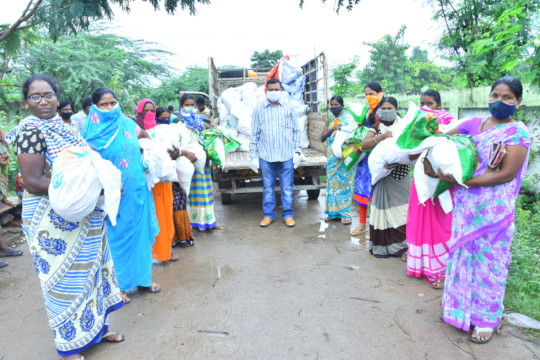 Covid19 coronavirus relief donation for poor daily