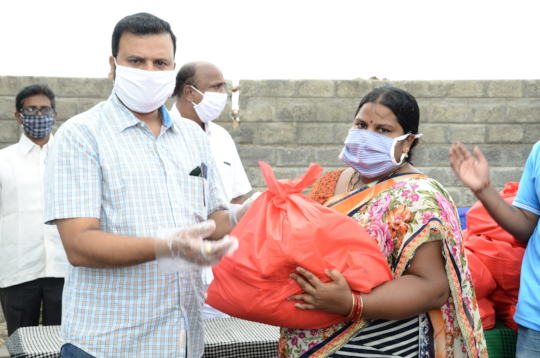 Pandemic Covid19 relief in india for daily wagers