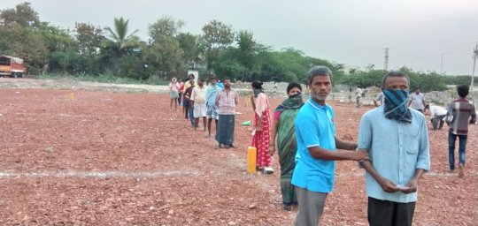 covid19 combating pandemic in india donate needy