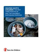 Haiti-3 Month Report (PDF)