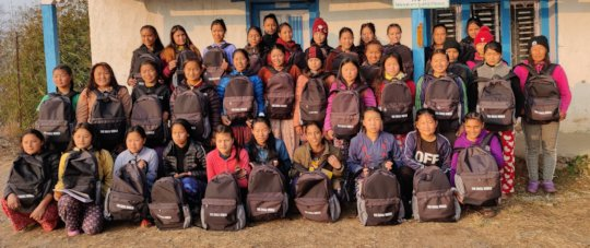 Supporting Girls with  gift of education