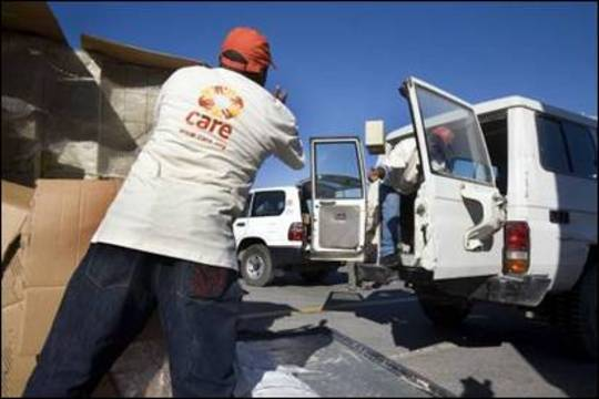 CARE provides water, food and relief to Haiti
