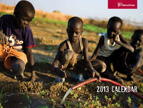 Mercy Corps' 2013 Wall Calendar