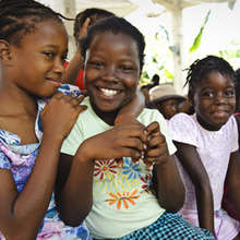 Art therapy camp for Port-au-Prince Youth