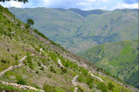 Haiti mountains