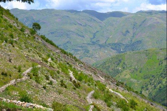 Haiti mountains