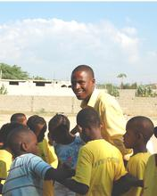 Guivens Cemervil, Mercy Corps Youth Coordinator