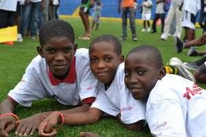 "Mercy Corps' Foutbol pou Lavi (""Soccer for Life"")"