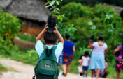 Community Reforestation in Southern Belize