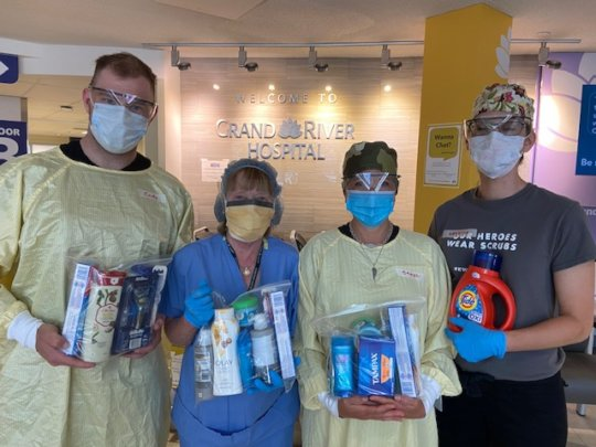 Thank You Kits to Grand River Hospital
