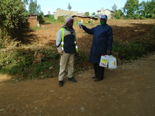 Giving PPEs/screening fo C19 in the community