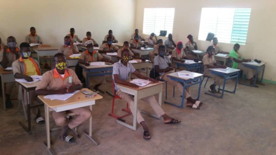 Class room at the LAP in June