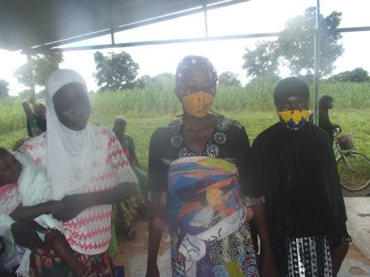 Women wearing masks 3